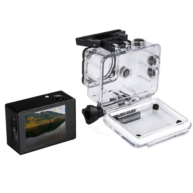 Máy ảnh 4 K Máy Ảnh WiFi 12MP 1080 P Đầy Đủ HD Không Thấm Nước Nhỏ Máy Ảnh Dưới Nước Cam Dưới Nước kamera Aksiyon