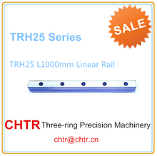1pc TRH25 Length 1000mm Linear Guide Rail Linear Slide Track  Auto Slide Rail for sewing Machiner