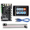 32bit Arm plataforma impressora 3D placa de controle Suave MKS SBASE V1.3 + MKS TFT32 3.2 ''LCD Display Touch