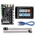 3D принтер 32bit Arm платформы Гладкую управления МКС SBASE V1.3 + МКС TFT32 3.2 ''Сенсорный ЖК-Дисплей