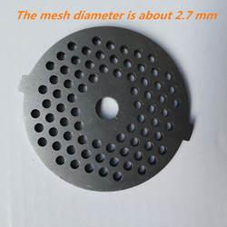 2,7 мм сетки, мясо шлифовальная плита чистая нож ножи VITEK для мясорубки s Общие детали мясорубки дисковое лезвие