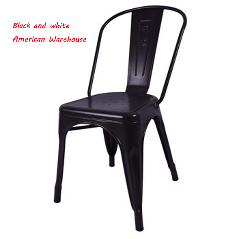 USA New york warehouse fedex all American jinhui tolix metal Antique chair  Armless Black Metal Chairs Used For Dining-in Dining Chairs from Furniture  on ... - USA New York Warehouse Fedex All American Jinhui Tolix Metal Antique