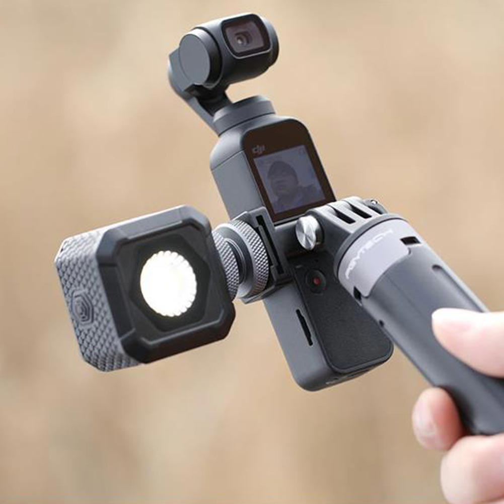 Adjustable Replacement Easy Install Universal Mount Data Port Handheld Gimbal Cold Shoe Accessories Selfie For DJI OSMO Pocket