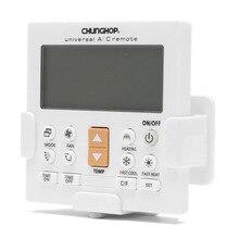 Chungop universal lcd a/c muli controlador de controle remoto para ar condicionado K 650E com função luz de fundo