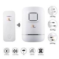 32 Ringtones Wireless Doorbell No Need Battery IP47 Waterproof Transmitter Bell Push Button Power Cut Memory