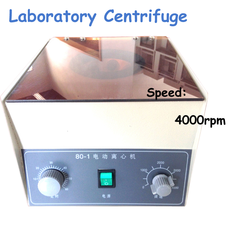 6x20ml Desktop Electric Medical Lab Centrifuge Laboratory Centrifuge 4000rpm CE Model 80-1 800 desktop electric medical lab centrifuge laboratory centrifuge electric centrifuge lab