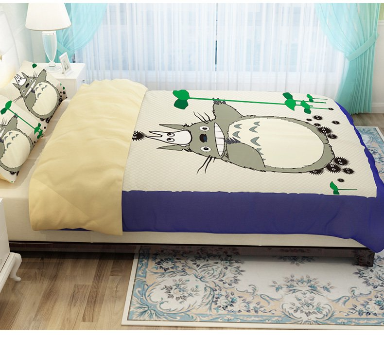 Totoro Bed Set: Popular Girls Bedding Sets Full Size-Buy Cheap Girls