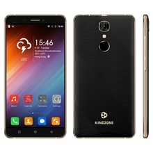 """Оригинал KINGZONE S20 Android 6.0 Мобильный Телефон MT6580A Quad Core 1.3 ГГц 1 Г RAM 16 Г ROM 5.5 """"мобильный телефон 3 Г WCDMA Смартфон 3000mA"""