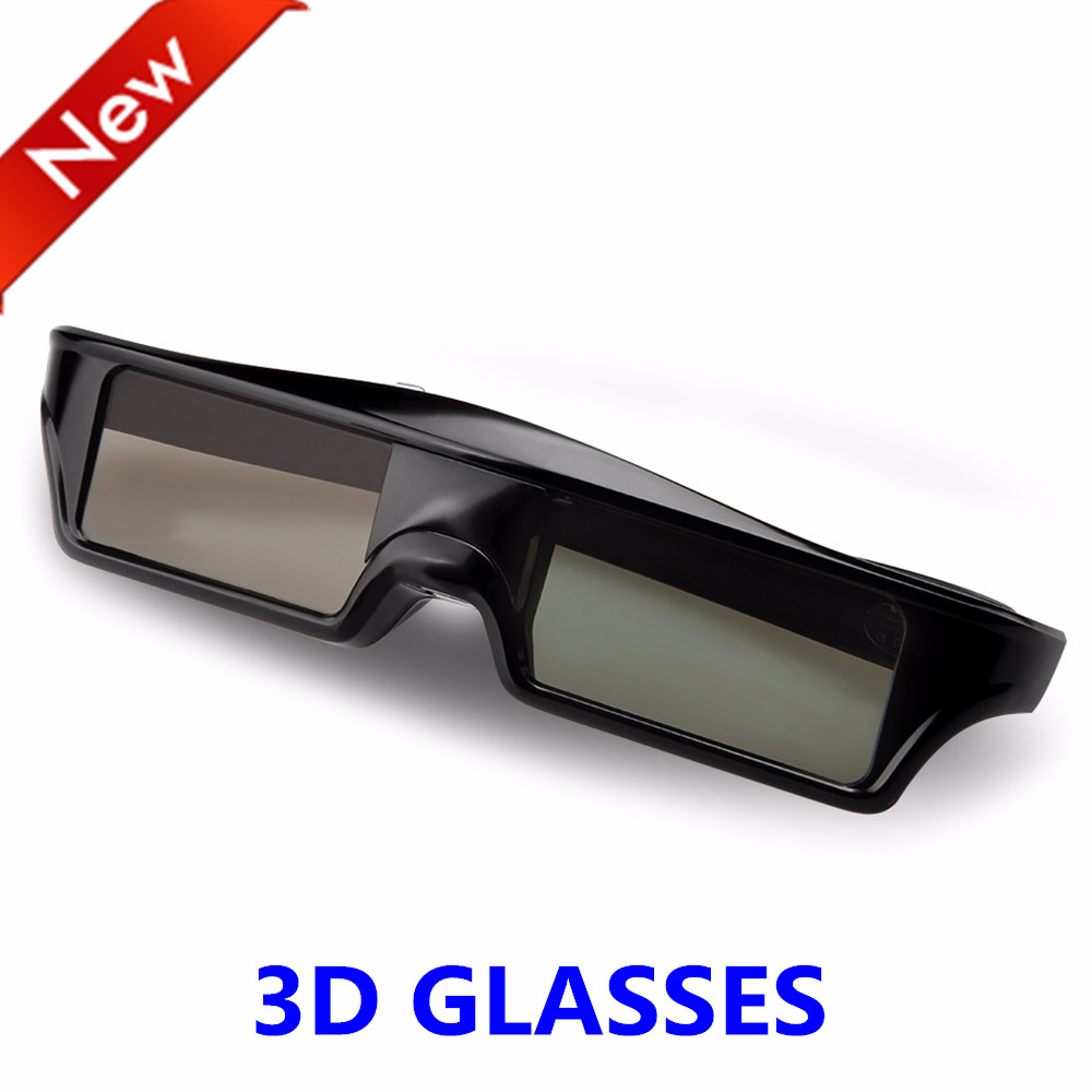 Official Universal 3D Bluetooth Rechargeable Active Shutter Glasses for TV Sony/Panasonic/epson/Samsung 3D TV replace SSG-5100(China)