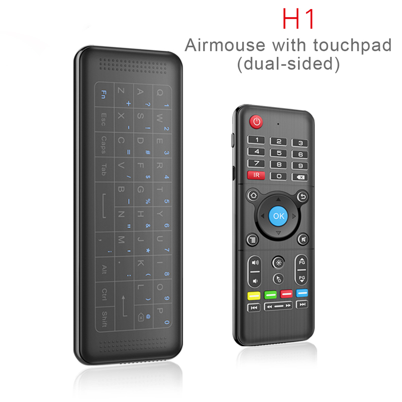 DHL Fly Air Mouse Universal TV Remote Control with Backlight Full Touchpad Airmouse Mini Wireless Keyboard for Android TV Box PC neworig keyboard bezel palmrest cover lenovo thinkpad t540p w54 touchpad without fingerprint 04x5544