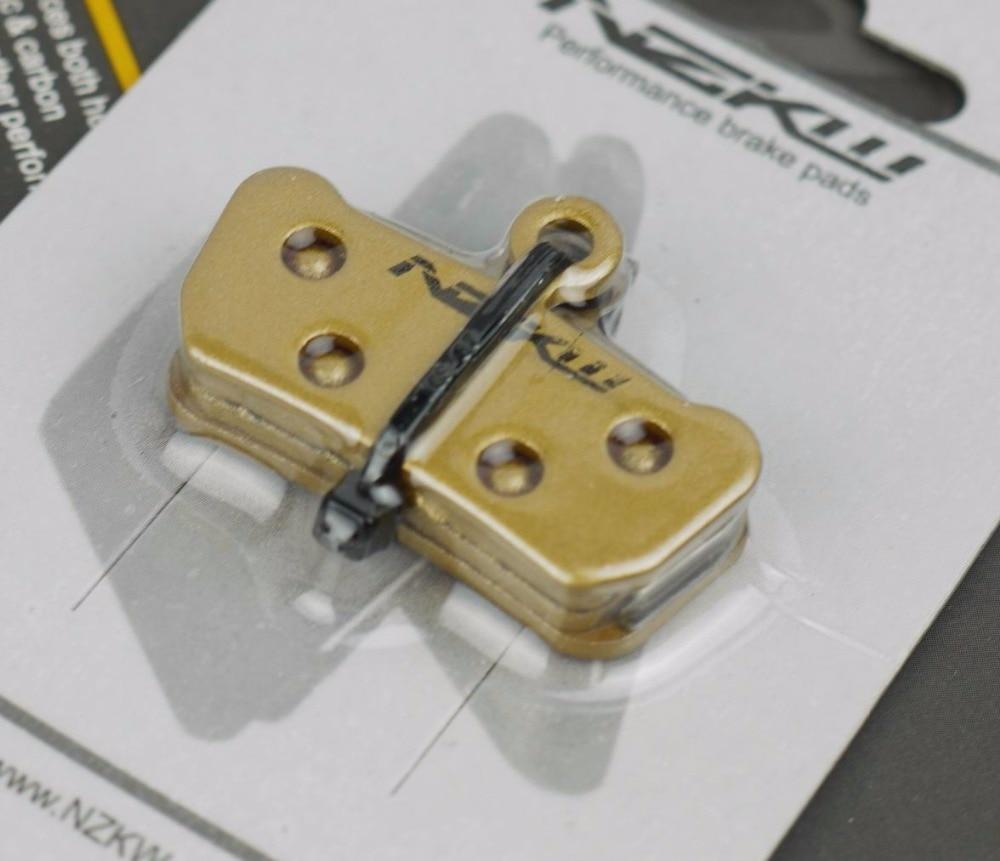 CYCEARTH 4 Pairs Bicycle Bike Disc Brake Pads for Sram Guide RSC R Avid XO XX Elixir 7 9 Trail 4 Piston Semi-Metallic//Sintered Metal