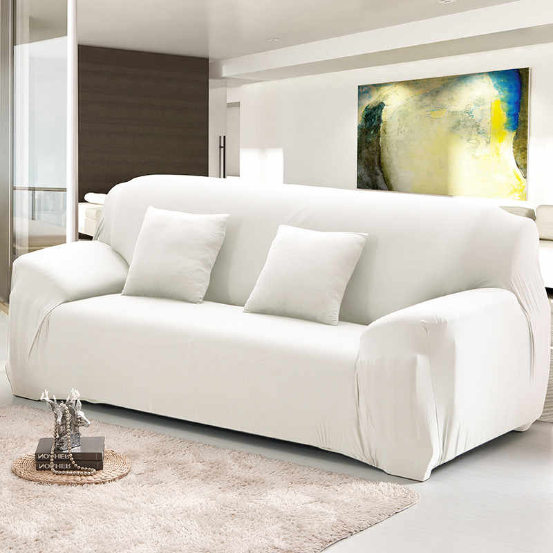 Elastic Sofa Cover Set Cotton Stretch