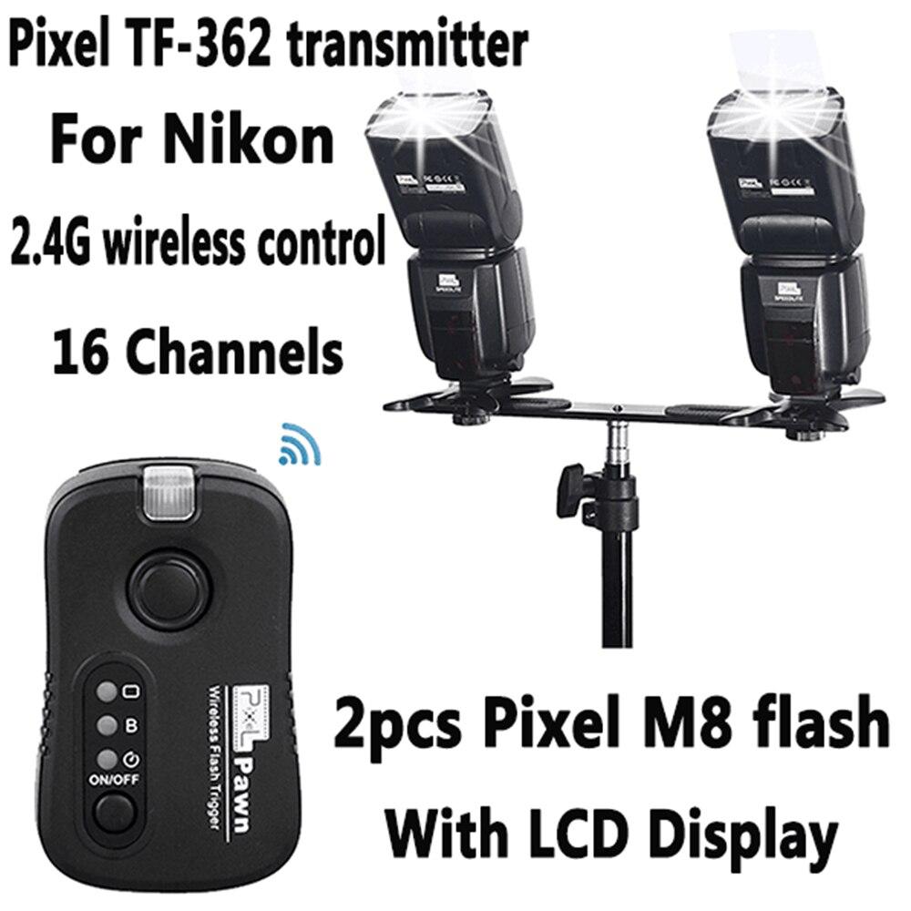 INSEON IN560IV IN560IV PLUS & PIXEL M8 LCD Flashlight - Κάμερα και φωτογραφία - Φωτογραφία 6