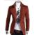 2017 Hombres Sobretudo masculino Abrigos de Lana Otoño Invierno de la Nueva Llegada Turn Down Collar Caliente de la Chaqueta Blazers Militares Masculino HY945