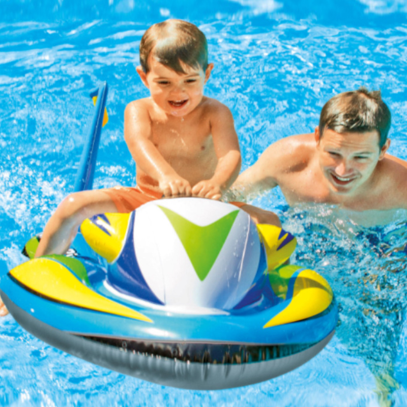 For Kid Over 3 Years Old Thicken Children Cartoon Surfing Raft Float Kid Fun Paddling Toy Safety Eco-friendly Floating Seat A026