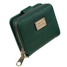 Vintage Zipper Womens Short Wallet 2017 Women bag Wallet Women Clutch Small Coin Purse Female Money Coin Bag For Girl Gift 3.28