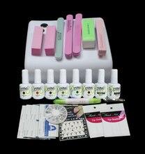UC-73  Hight quality Gel nail polish set nail gel Lamp UV gel set Manicure Nail art tools Base Top coat Buffer Remover