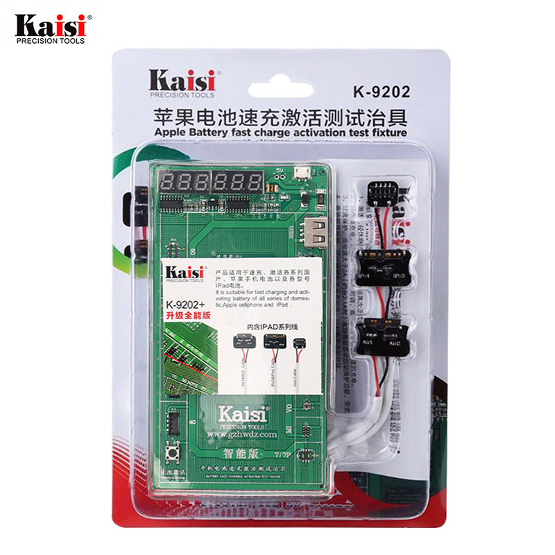 Kaisi 16 in <font><b>1</b></font> Battery Fast Charge Activation Test Fixture For Apple iPhone iPad 3 <font><b>4</b></font> Mini Air3 <font><b>4</b></font> Circuit Current Testing Cable