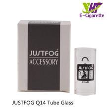Original Justfog Q14 Glass Tube Electronic Cigarette Tank Replacement Glass Tube for Justfog Q14 Kit Tank 10pcs/lot