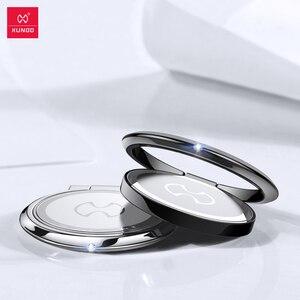 Image 2 - XUNDD מגנטי טבעת מחזיק אוניברסלי stand עבור andorid ומכשירי iOS מתכת טלפון טבעת 360 תואר