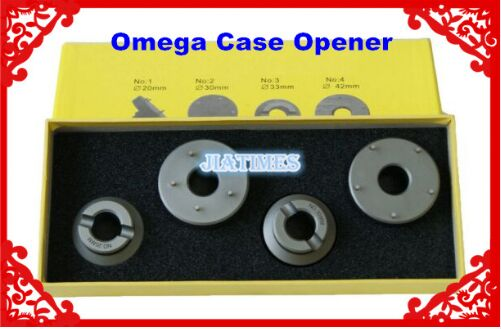 4 Pieces High Quality Watch Case Opener for 0mega Watch Repair Tool Kit without Hand Key