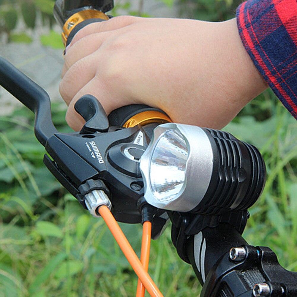 Skywolfeye Led Bicycle Light 3000 Lumens Xml Q5 Interface Bicycle Headlights Headlights 3mode Lighting Top Quality 5.6