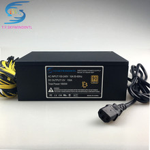 купить free ship 1600W psu for antminer s9 S7 A6 A7 S7 S9 L3 L3+ BTC miner machine server pc power supply for bitcoin miner power cable недорого