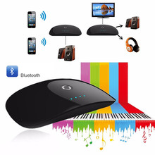 2 in 1 Wireless Bluetooth V3.0 Audio Transmitter Receiver A2DP AVRCP 3,5mm Audio-Adapter für Telefon TV MP3 PC Lautsprecher kopfhörer