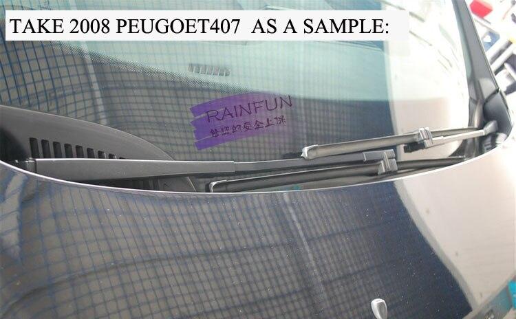 RAINFUN специальный автомобиль стеклоочистителя для VW старый TOURAN(03-10), 28+ 28R дюймовый автоматический стеклоочиститель с натуральным каучуком, 2 шт. в партии