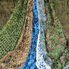 2x3M Oxford Cloth Camouflage Shade Net Mesh Sun Shelter Army Hide Cover Camping Military Hunting Sails Beach Sheet