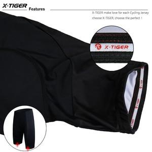 Image 5 - X TIGER Coolmax 5D Gel Pad short de cyclisme noir entier classique antichoc vtt vélo Shorts route vélo collants Ropa Ciclismo