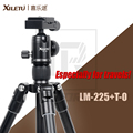 XILETU LM-225+T0 Professional Aluminum Alloy Tripod Kit Especially suitable for travels 26.5cm Folded Height 0.94kg Weight