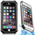 Antideslizante tpu case nivel profesional bajo el agua ip68 a prueba de agua a prueba de golpes duro para iphone 6 6 s plus cubierta del teléfono capinha coque