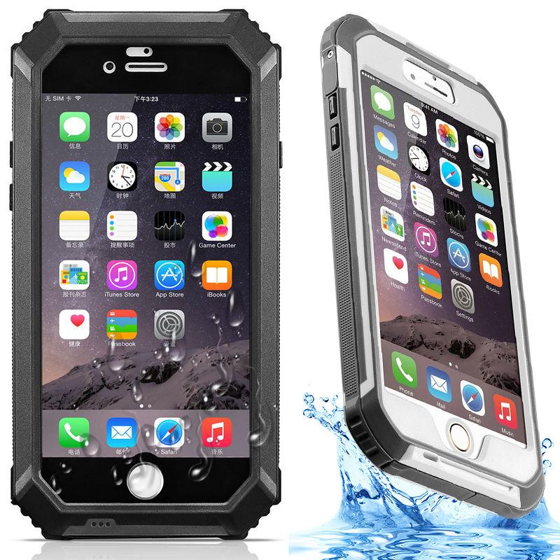 Цена за Refunney профессионального уровня противоскольжения IP68 Водонепроницаемый противоударный подводный чехол для iPhone 6 6S плюс Чехол Коке capinha