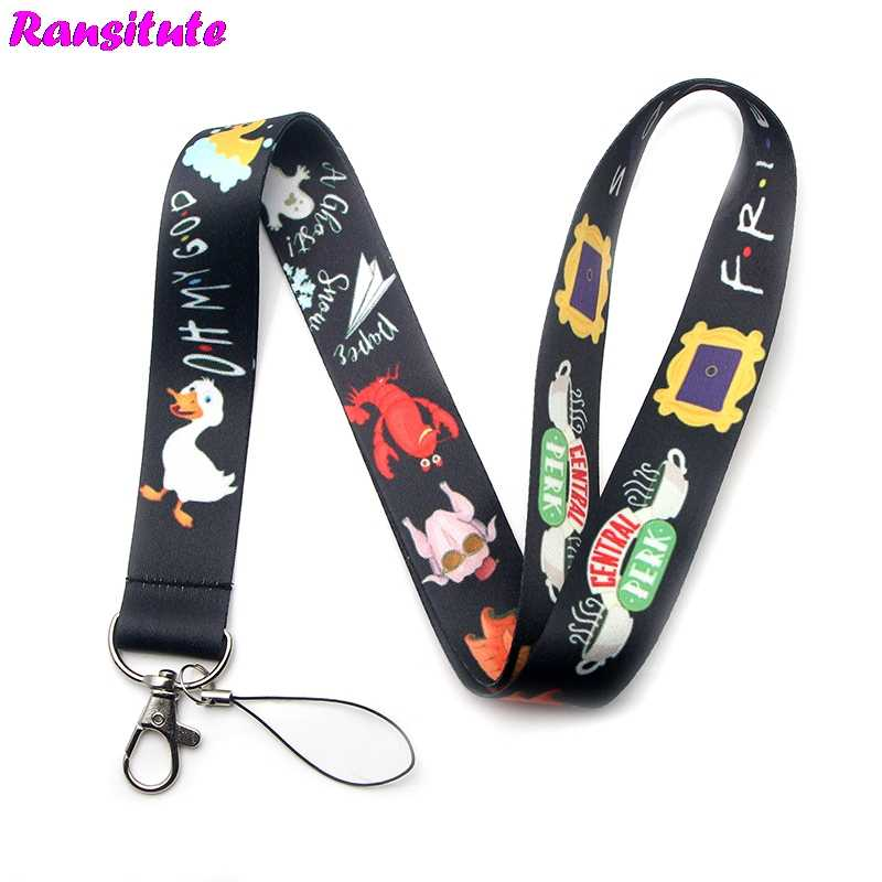 R184 TV Friends multi-function mobile phone key strap rope lanyard neckband mobile phone decoration