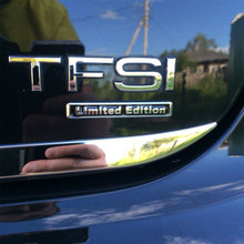 3D Chrome  and Black Limited Edition Emblem