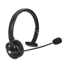 M10B Bluetooth Headphones Wireless Single Track Business Call Center Office Headset with Microphone and Charging Base