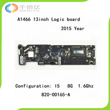 """100% Brand New Logic Board for Macbook Air A1466 Mother Board 13"""" I5 8G 1.6Ghz 2015 Year Early 820-00165-A"""