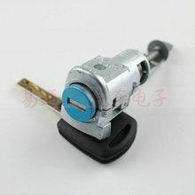 Für Skoda Superb Octavia OEM Linken Vorderen Türschließzylinder für Skoda Superb Octavia mit 1 stücke SCHLÜSSEL