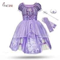 e73c78d53f86f 2-10 Years Hot Sophia Cinderella Dress for Girls Sofia Prom Dress Sleeping  Beauty Baptism Clothing Kids Snow White Party Dress