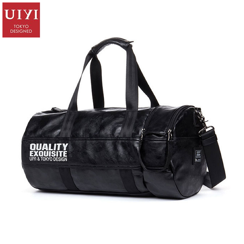ФОТО UIYI Design Tote Men Handbag PU Leather Messenger Crossbody Sling Shoulder Bag Teenagers Student School College Bags 160148
