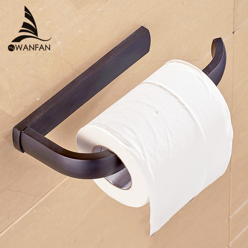 Paper Holder 5 Colors Solid Brass Wall Mount Toilet Paper