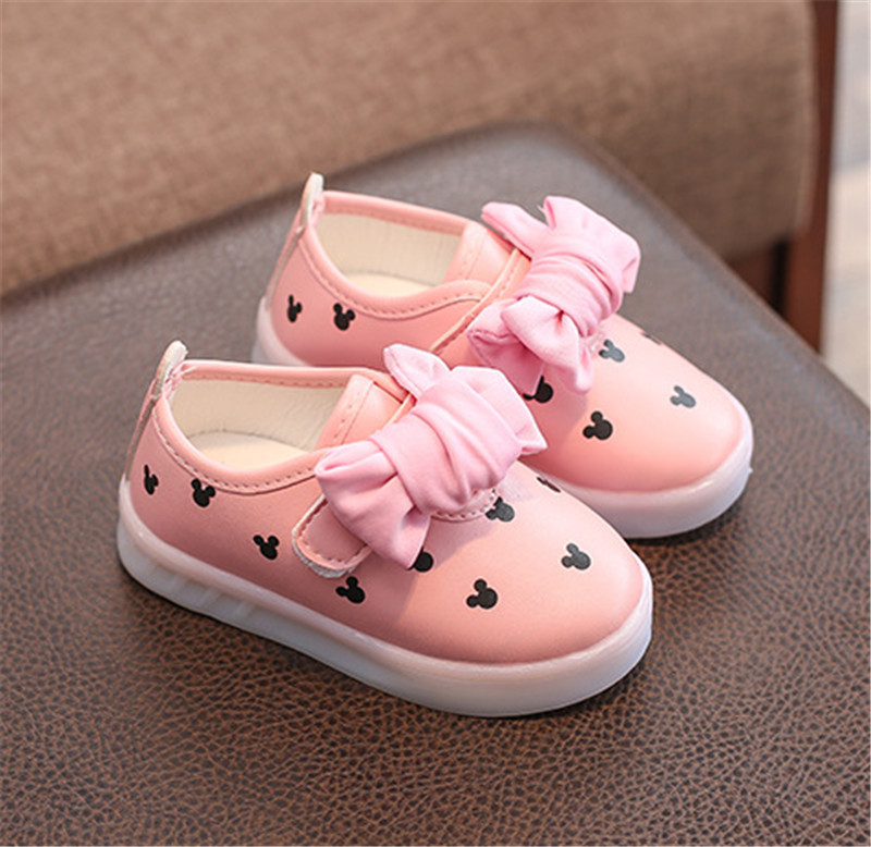 kids girls shoes with light (10)