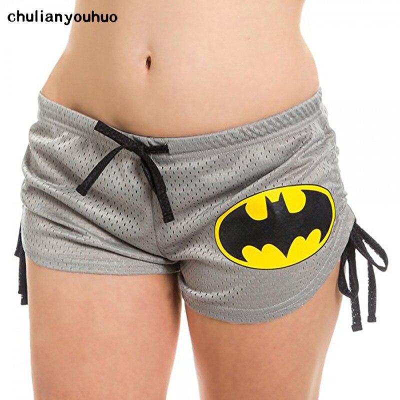Chulianyouhuo Hot 2017 Latest Design Stylish Women Superhero Superman/Batman 3d Printed   Shorts   FitnessYo-ga   Shorts   Bts