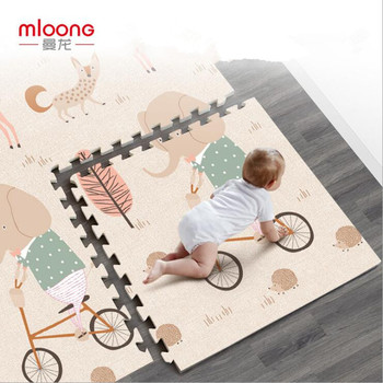 New XPE Baby Crawling Mat 60*60*2CM/6pcs Thick 2CM Children Foam Game Pad Environmental Protection Custom High Quality