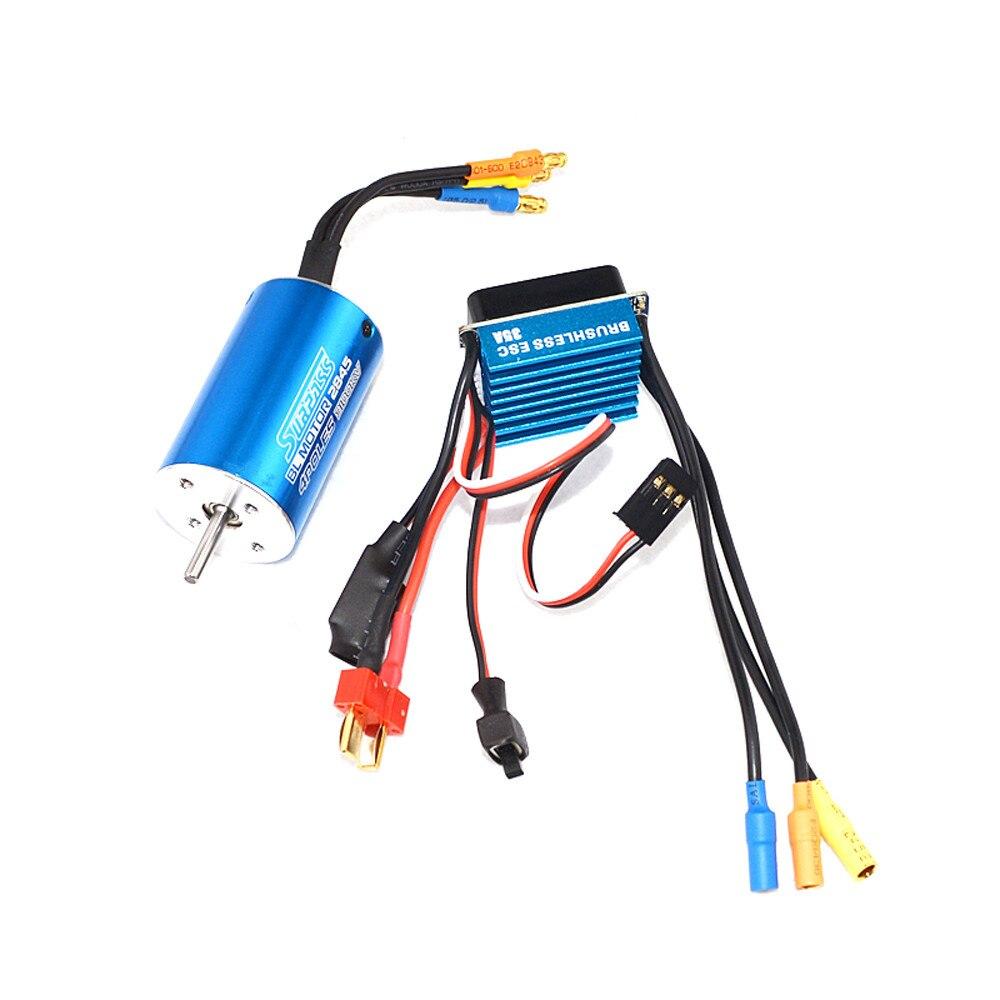 High Quality Motor Classic Brushless Sensorless BL 2845 3100KV + Sensorless 35A Brushless ESC Toys Wholesale Free Shipping high quality 3d brushless motor h2221