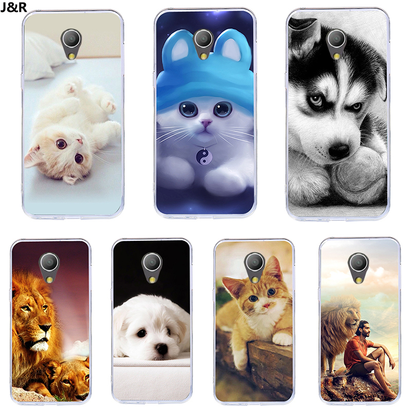 J&R Printed Cover For Alcatel 1X Case Soft TPU 3D Cartoon Silicone Back Cover Case For Alcatel 1X 1 X 5059D 5059A Phone Case