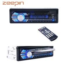 2016 12 В Стерео FM Радио MP3 аудио плеер Поддержка FM USB SD DVD Mp3 плеер Aux микрофон с Дистанционное управление радио в тире 1 DIN