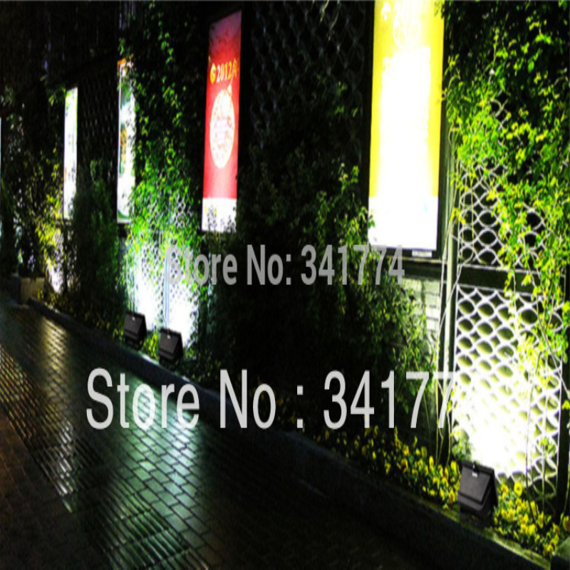 LED Solar Powered Panel Flood Lights Gutter Fence Spotlight Wall Lamps Christmas Chandelier New Year Garden Outdoor Decoration uland privacy fence garden wall balcony decoration artificial boxwood hedge faux plant grass greenery panel mat 6 pcs 50x50cm