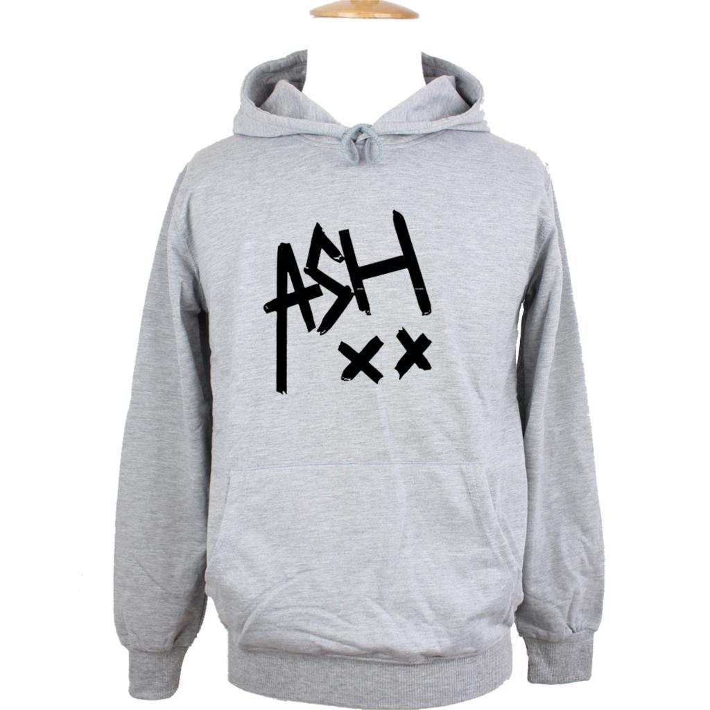 ASH 5SOS Ashton Irwin Music Tumblr 5 SOS Band Design Hoodie Mens Boys Womens Ladys Sweatshirt Tops White Grey Red Yellow